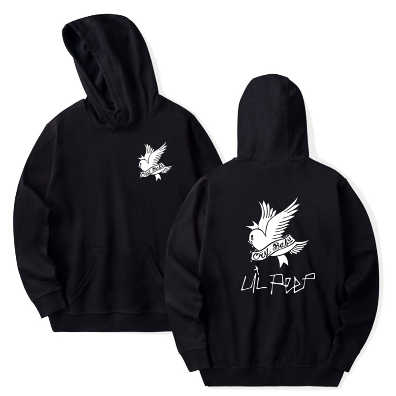 2019 Newest Lil Peep R.I.P Lil Peep LOVE Men/Women Pocket Hoodies Love Hood Lil. Peep Hoodies Hip Pop Man Clothes Fan Shirts