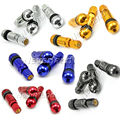 4pcs Universal Rays Volk Racing Aluminum Valve Stem Caps Wheels Tire Tubeless Valves Motorcycle Car 5 Color D10