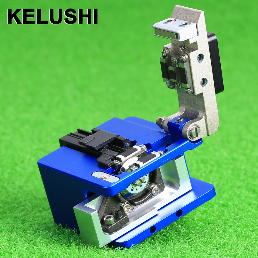 bilder für KELUSHI Faser-spalter Mini Kabelschneidmesser FTTT faser Messer Werkzeuge Cutter Hochpräzise Cleavers 16 Oberfläche klinge