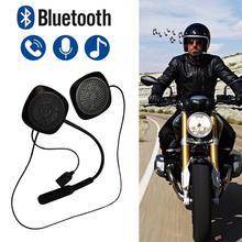 Vivavoce Casco Del Motociclo di Bluetooth Headset Moto Auricolare Altoparlante Della Cuffia per la Musica di GPS Del Motociclo elettronica per lo styling