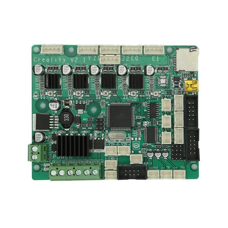 ALLOYSEED CR-10S V2.1 платы с USB Порты и разъёмы + Мощность чип 3D принтер аксессуары для Creality 3D CR-10S
