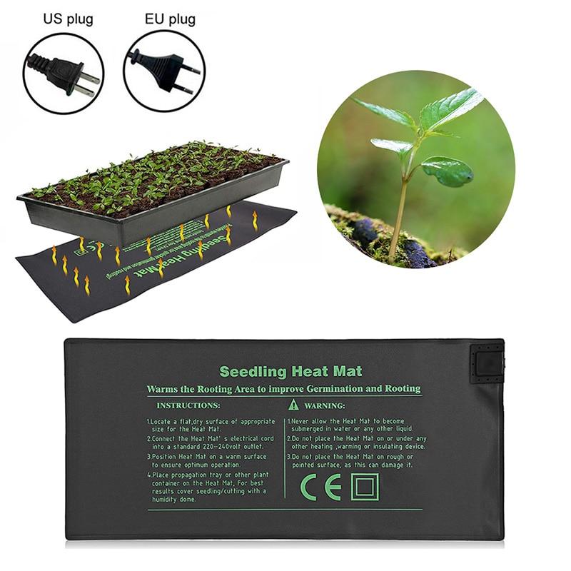 Seedlings Propagation Seedling Heat Mat Seed Germination Electric Heating Pad For Indoor Plant Growth Seed Tray Warm EU/US Plug