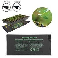 Seedlings Propagation Seedling Heat Mat Seed Germination Electric Heating Pad For Indoor Plant Growth Seed Tray Warm EU/US Plug|LED Grow Lights|Lights & Lighting -