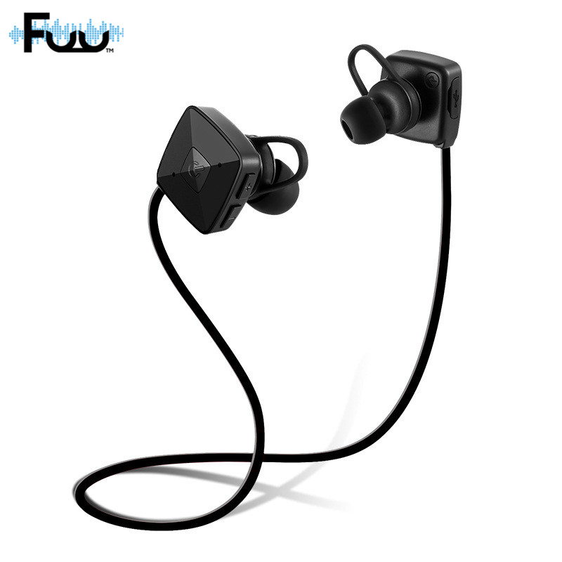 4.2 Bluetooth In-Ear Headset Earbuds Portable Wireless Headphone Microphone APT-X Sport Earphone for iPhone Android Phone