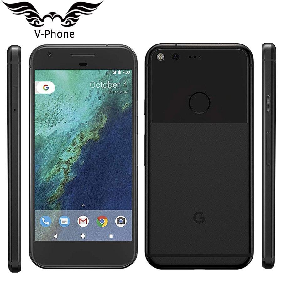 5.0 ''L'UE Version Google Pixel Smartphone Smartphone 4G Snapdragon Quad Core Android Google 4 GO de RAM 128 GB ROM Mobile Téléphone