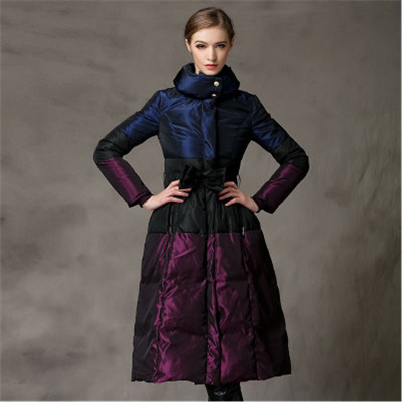 Big Size Thick 2019 New Wintet Women   Down   Jacket High Quality Fashion Leisure Slim Lace Warm Women White Duck   Downs     Coat   772