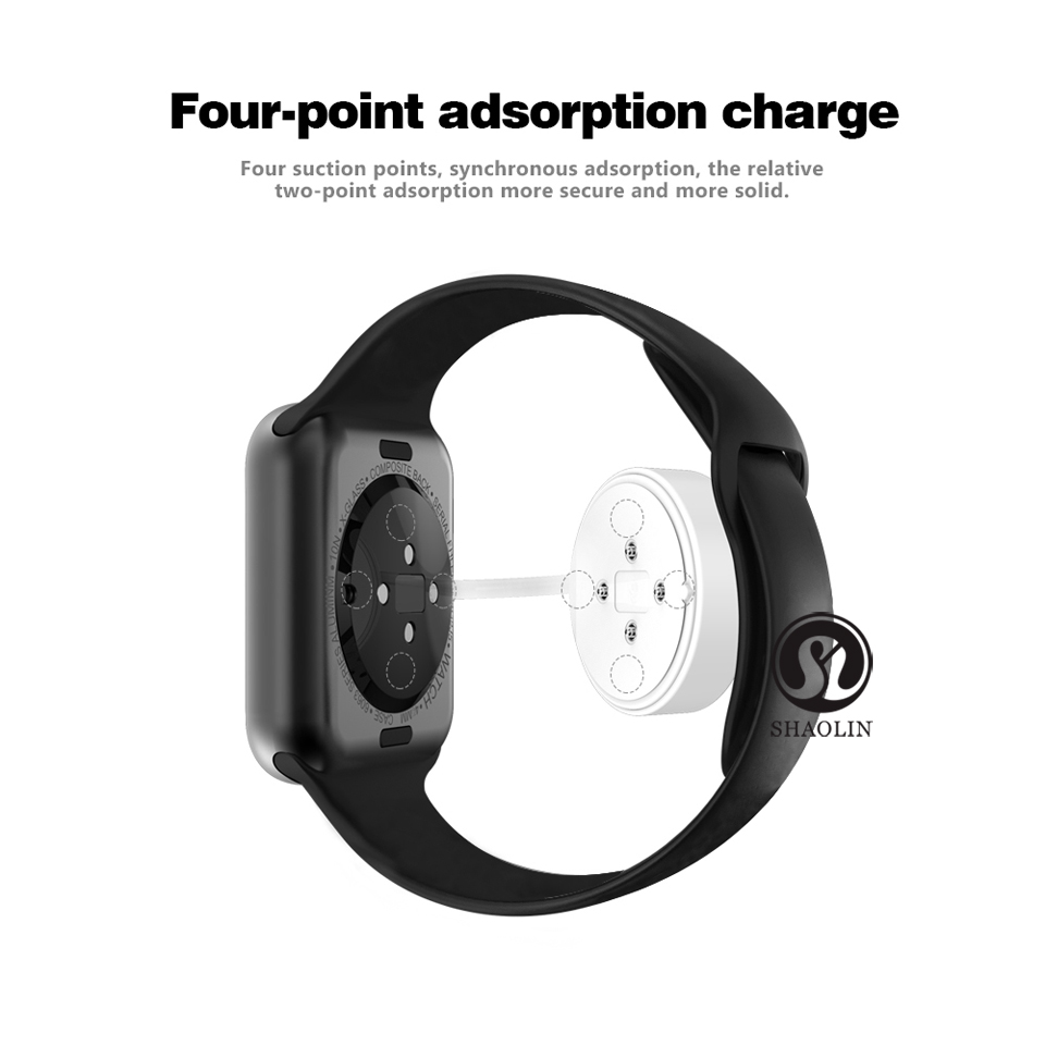 SHAOLIN Bluetooth Smart Watch Heart Rate Monitor Smartwatch Wearable Devices for apple watch iPhone IOS and Android Smartphones-06