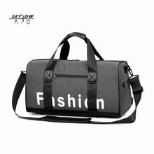 2018 Модные сумки для путешествий Мужчины Большая сумка USB Сумка Мужские туфли для путешествий Duffle Высокое качество Водонепроницаемая сумка для багажа 8892