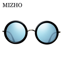 MIZHO Trendy Celebrity Cheap Sunglasses Women Round High Qua