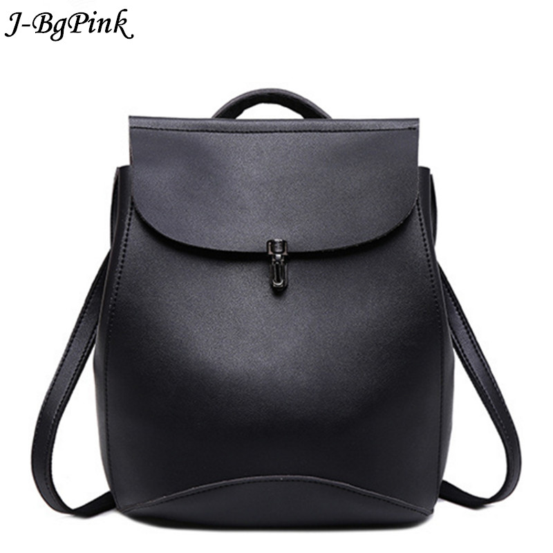 J-Bg Pink brand genuine leather women backpack female cattle split leather bags ladies vintage backpack classic designer style women small backpack cattle split leather backpack with nylon inside