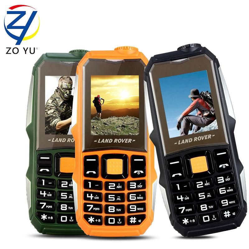 ZOYU L99 land rove business phone the flashlights phone for senior phone 3800 power bank 2Gdual