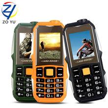 ZOYU L99 land rove business phone the flashlights phone for senior phone 3800 power bank 2Gdual sim dual standby mobile phones