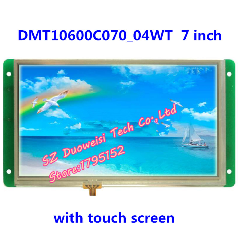 DMT10600C070_04WT 7 inch resistive touch screen DGUS serial port configuration screen LCD screen полотенцесушитель domoterm dmt 109 т5