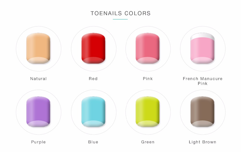 Toenails-colors