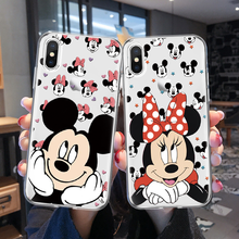 Couple Cartoon Phone Case For iPhone X 6 6s 7 Plus XR Soft T