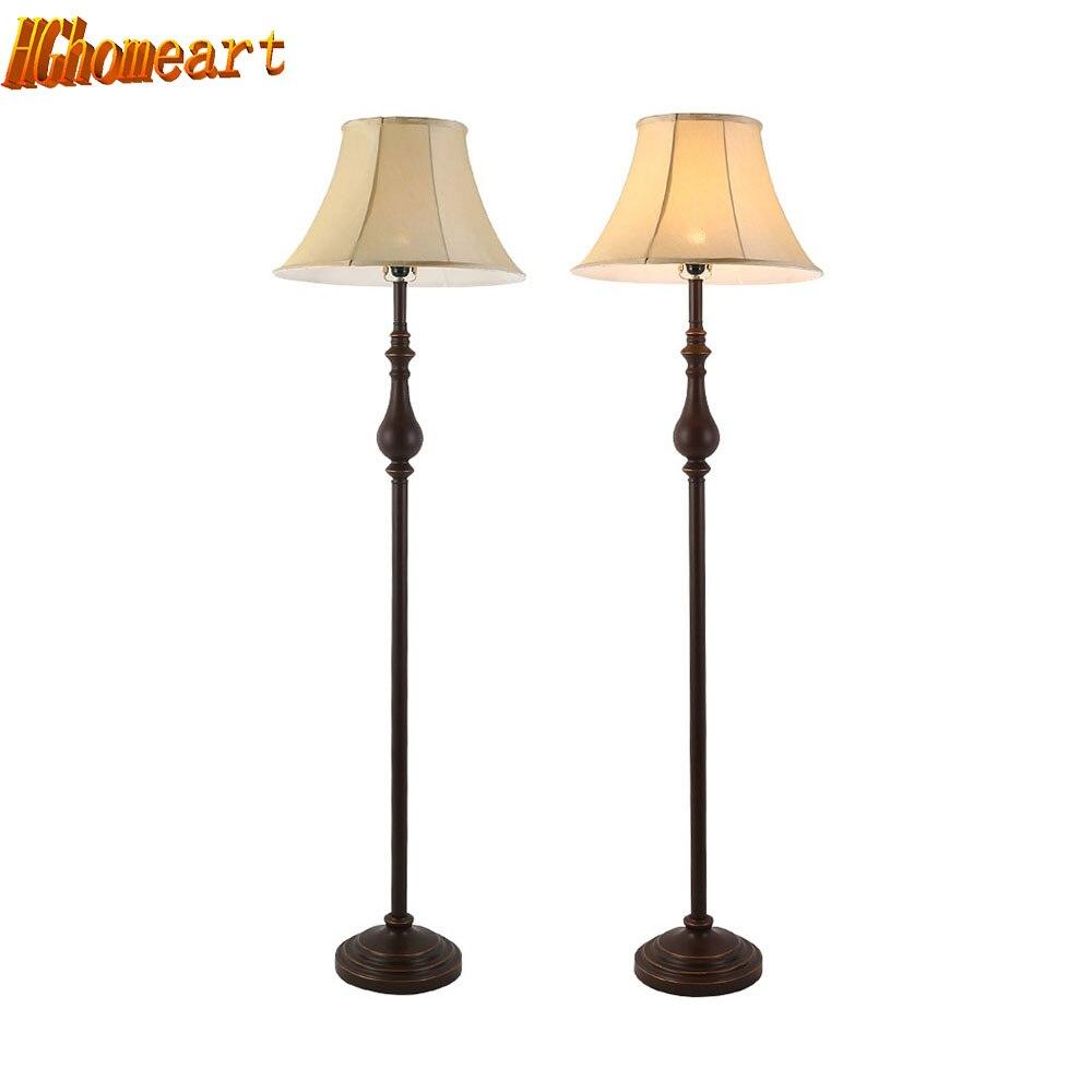 Led lamp e27 vloer lampen vintage luxe slaapkamer ontwerp 110 v 220 v moderne floor