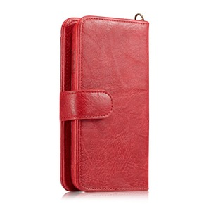 Image 5 - Haissky luxo flip caso de couro para o iphone 6 7 8 x carteira caso da aleta para o iphone 6 7 8 plus slots de cartão capa do telefone coque capa
