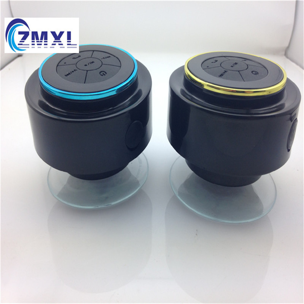Mini wireless waterproof shower bluetooth speaker bathroom - Waterproof sound system for bathroom ...