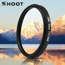 לירות 52mm שחור נפשי זכוכית המקטב CPL עדשת מסנן סט עם מסנן מתאם עבור GoPro גיבור 7 6 5 Pro פעולה מצלמת