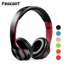 Wireless Headphones Bluetooth V5.0 Foldable Earphones W/built-in Mic Support TF, FM, Aux Headsets For Pc/cell Phones/tv bluedio original t2 bluetooth wireless foldable headphones built in mic bt4 1 3d sound headset for cell phone xiaomi samsung