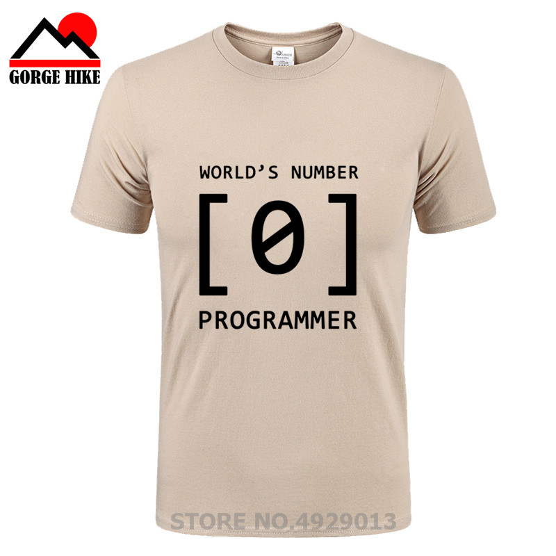 3062f718 World Number 0 Programmer teacher T Shirt Men Funny Design Math Tshirt Geek  Physics Office Unisex Fashion T-Shirt Einstein Tees
