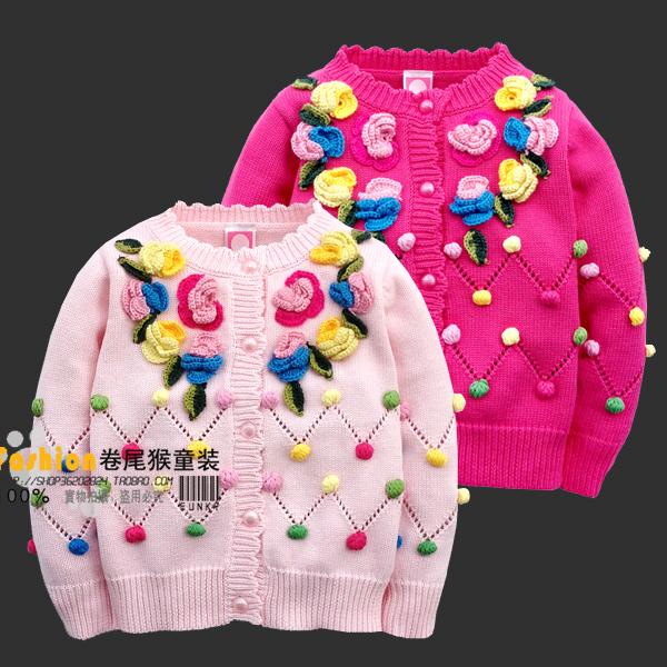 Nueva Llegada de la Alta Calidad 2016 de Moda Suéter de Los Niños Chaqueta de Punto Suéteres de Las Muchachas Niño Otoño Niños Niños Niñas Suéteres