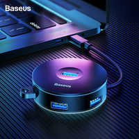 Baseus USB HUB USB C to Multi Ports USB3.0 USB 3.0 Type C HUB Splitter For Macbook Pro Air PC Computer USB-C Type-C HAB Adapter
