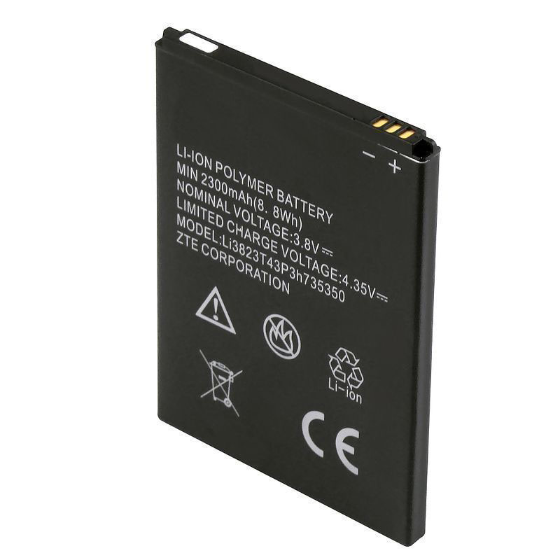 Origina High Capacity Li3823T43P3H735350 battery For ZTE Q802T Geek V975 U988S N986 V976 N976 MF64 4G Mobile WiFi Hotspot Z833 Z