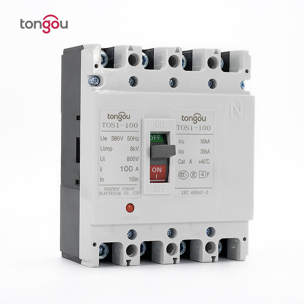 100A 4P New Type Mccb Moulded Case Circuit Breaker 400a 3p 220v ns moulded case circuit breaker