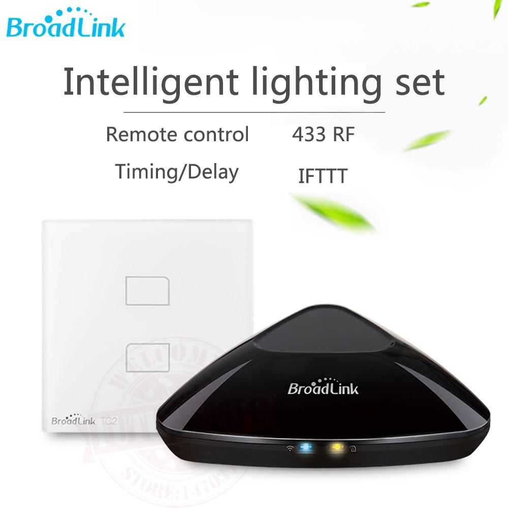 2017 Broadlink RM3 RM Pro + EU RF/IR Controller Di Casa Intelligente + Interruttore Della Luce Intelligente TC2 UE Universale Controllo Remoto Tramite IOS Android