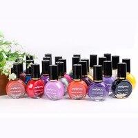 Nail Polish Metallic gel Mirror Nail Polish Sweet 26 Color Optional For Nails Art Stamping Print 10ML 26pcs