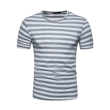 HipHop Joker T-shirt Streetwear Men T Shirt Summer Tops Tees Stripe T-Shirts Mens O Neck Cotton Tshirt Fashion tee shirt homme bold stripe cotton blends mens chest pocket shirt