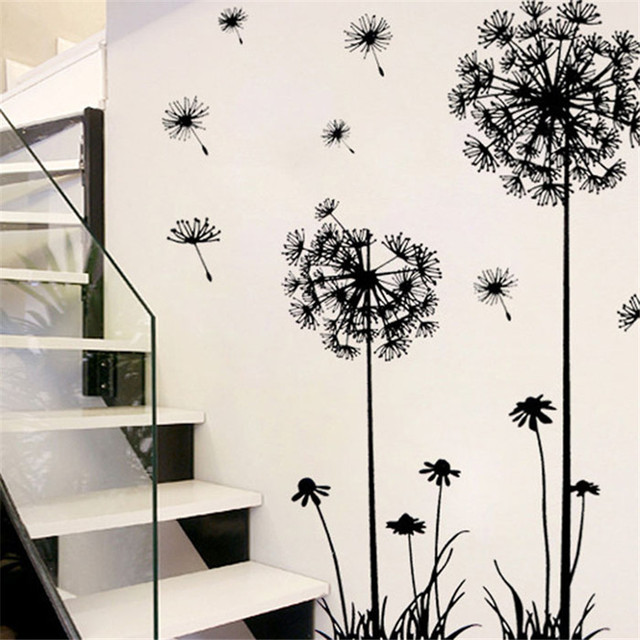 Dandelion Wall Sticker PVC