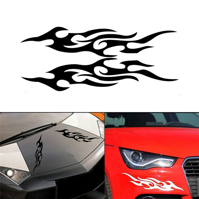 Auto side body decal car styling vinyl graphics characteristic stickers body decals make cars unique