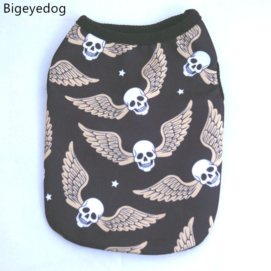 Small dog t shirts summer Dog Vest shirts for dogs fashion ...