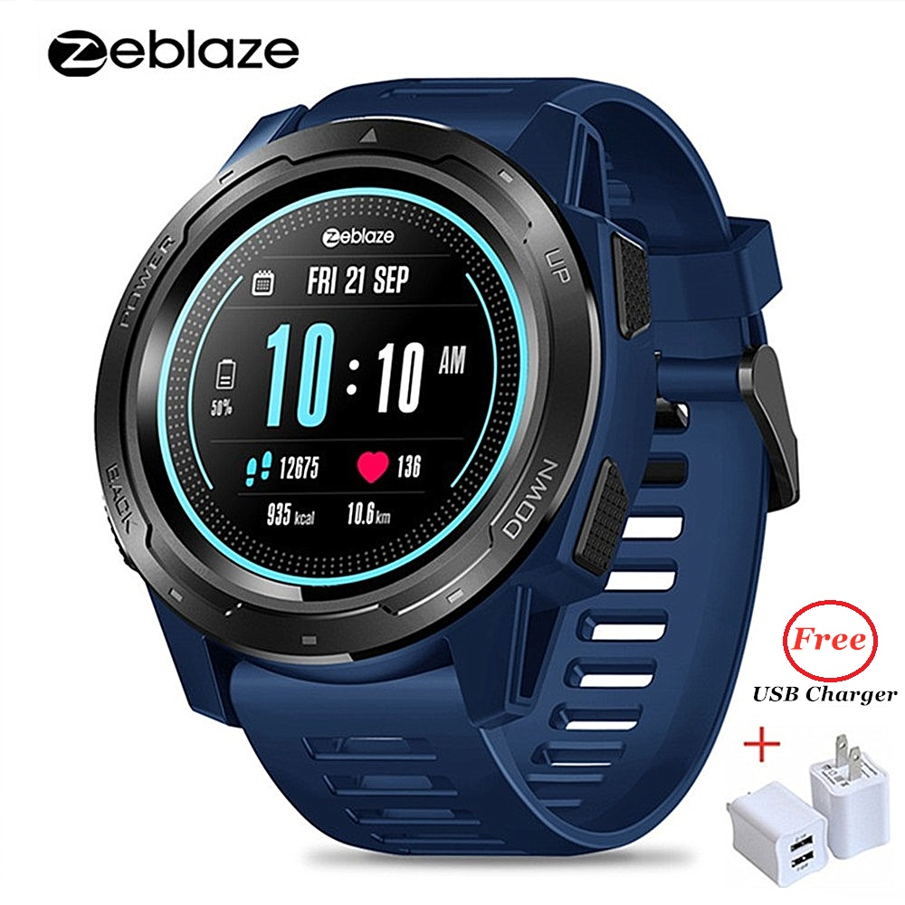 Zeblaze VIBE 5 Smart Watch Waterproof Heart Rate Long Battery Life 1 3 IPS Screen Multi