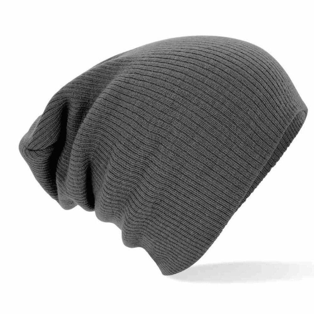 2016 New Hat Female Men Women Solid Unisex Cotton Warm Soft Women s Knitted Touca Gorro