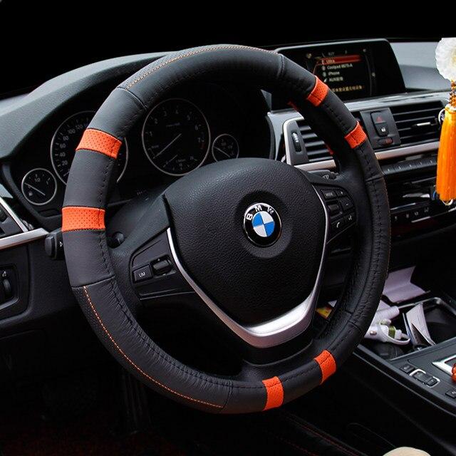 Online Shop News Leather Handstitched Car Steering Wheel - Bmw 325i steering wheel