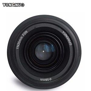Image 2 - 永諾 YN35mm レンズ F2.0 AF/MF 固定焦点 F1.8 レンズ D800 D300 D700 D3200 D3300 D5100 d5200 dlsr カメラ