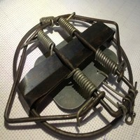 Strong Power Leg Hold Animal Snare Spring Trap 5 1 Inch 130mm With Low Price Free