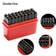 27pcs/set Jewelry Making Tools Letter & Steel Stamp Die Punch Jewelers Set Metal Case цена и фото