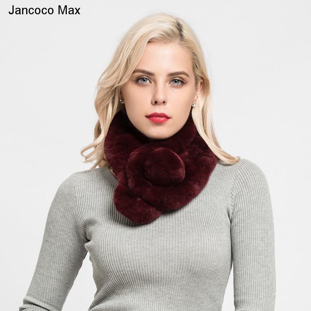 32a0ef746e42 ①Jancoco Max 2018 Nouvelle Dame D hiver Réel Rex De fourrure de ...