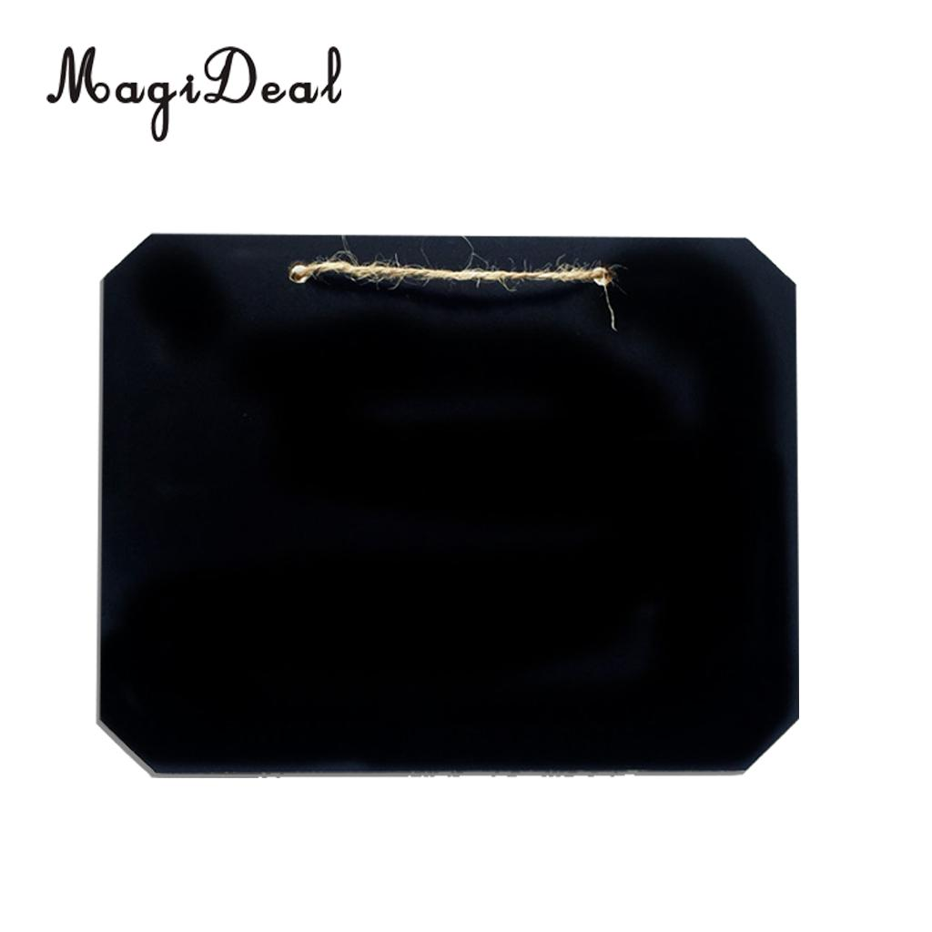 5pcs Hanging Wooden Blackboard Wedding Table Numbers Single Side Chalkboard Wedding Party Decoration Marriage Supplies