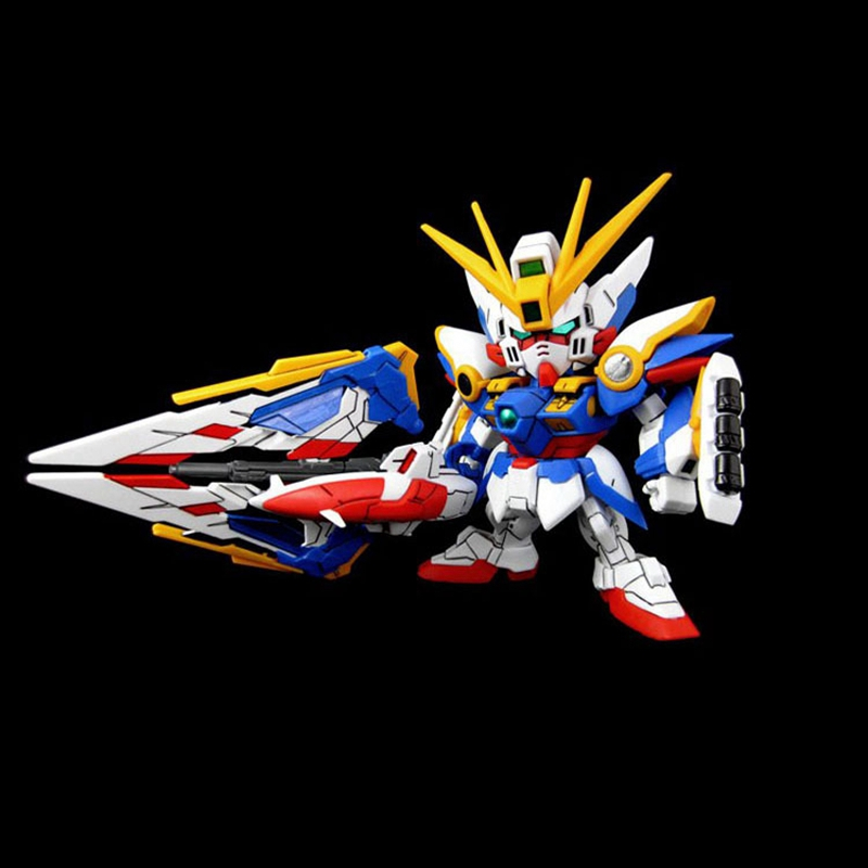 Gundam Series Animation Action figure toys SD/BB Flying Wing Angel Gundam Warrior EW Version Assemble Model Robot Send Brackets wi fi роутер d link dir 640l dir 640l ru a2a