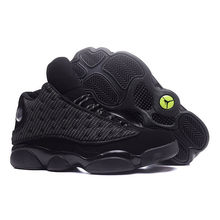 78a6c4cebb7 JORDAN 13 Basketball Shoes Retro High Quality Black Cat Sneaker He Got Game  Men Outdoor Breathable
