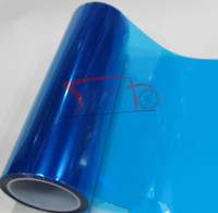 Deep blue Car Headlamp Film Tail lamp Membrane Protective Film HeadLight Sticker Vinyl Film 30*900cm Roll Sticker