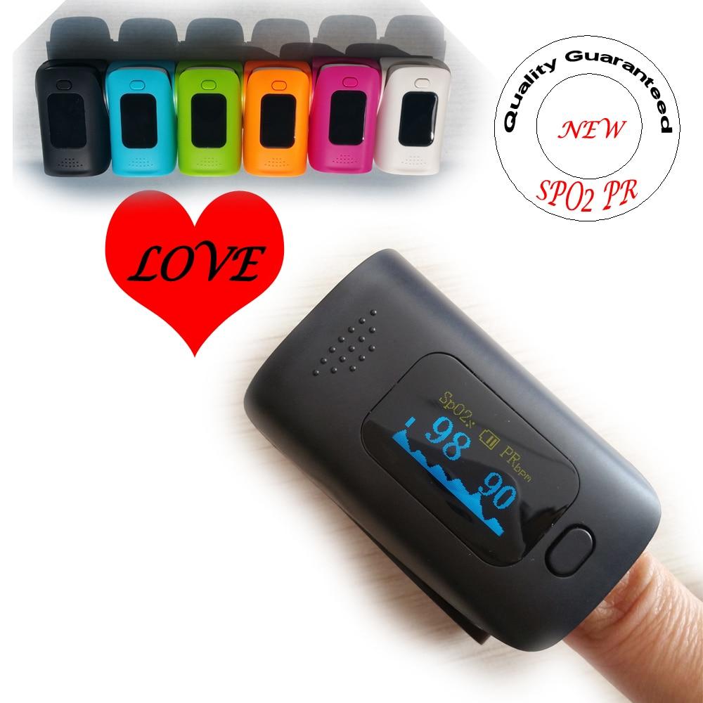 Pulse Oximeter SPO2 PR Monitor Blood Oxygen Monitor Scratch-resistant OLED Screen elera portable finger pulse oximeter spo2 pr odi4 pi fingertip oximetro de pulso de dedo blood oxygen saturometro