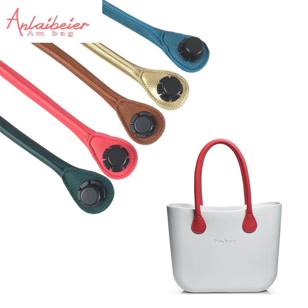Prix pour Anlaibeier nouveau 1 paire 70 cm long souple pu faux cuir poignée pour AMbag O SAC Classique Mini O Sac femmes sac à main
