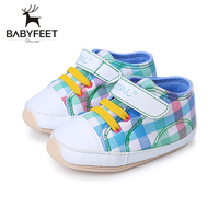 Babyfeet Infant First Walkers Baby Girl Boy Shoes Sports Breathable Sneakers Soft Bottom Anti Slip Comfortable