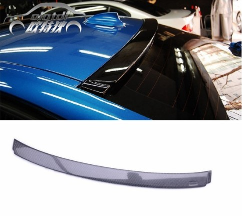 Top quality F30 AC style carbon fiber roof spoiler wing car trunk lip auto boot for BMW accessories styling